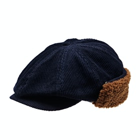 Brixton Brood Earflap Snap Cap - Washed Navy