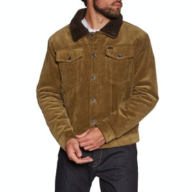 Brixton Cable Sherpa Jacket - Brass