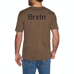 Brixton Gate II Premium Short Sleeve T-Shirt - Bison