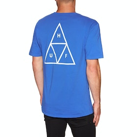 T-Shirt à Manche Courte Huf Essentials Triple Triangle - Nebulas Blue