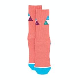 Huf Prism Triangle Socks - Desert Flower