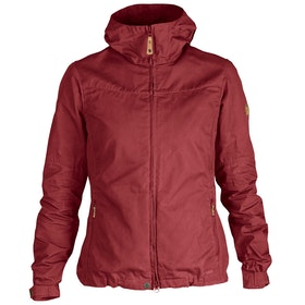 Fjallraven Stina Dames Jas - Raspberry Red