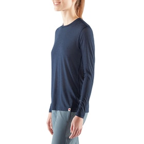 Fjallraven High Coast Lite Long Sleeve Damen Funktionsunterwäsche Oberteil - Navy