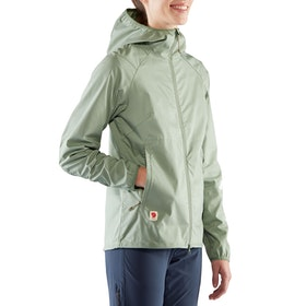 Fjallraven High Coast Shade Ladies Windproof Jacket - Sage Green