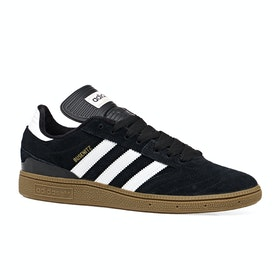 Adidas Skate Busenitz Shoes - Black Running White Gum