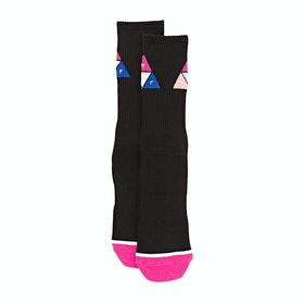 Huf Prism Triangle , Sockor - Black