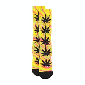 Chaussettes Huf Good Trip Plantlife - Blazing Yellow