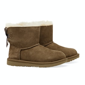 UGG Kids Mini Bailey Bow II Stiefel - Chestnut