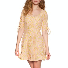 Abito Donna Free People Laced Up Mini - Pink