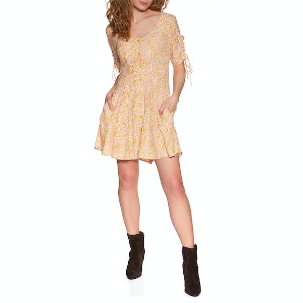 Free People Laced Up Mini Women's Dress