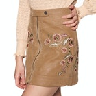 Free People Alanis Moto Mini Dames Rok