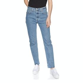 Levi's 501 Crop Womens Jeans - Tango Beats