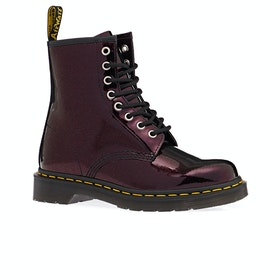 Dr Martens 1460 Sparkle Womens Boots - Purple/royal Sparkle