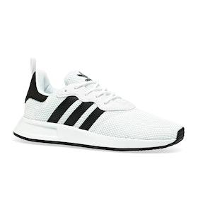 Chaussures Enfant Adidas Originals X PLR 2 J - Black/white