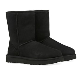 UGG Classic Short II Women's Boots - Black