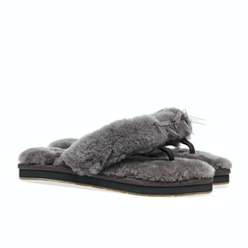 UGG Fluff Flip Flop Iii Women's Slippers - Grey