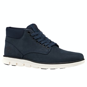 Timberland Bradstreet Chukka Boots - Dark Blue Nubuck