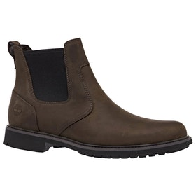 Timberland Stormbucks Chelsea Boots - Burnished Dark Brown Oiled