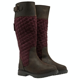 CHATHAM Ascot Ladies Boots - Burgundy