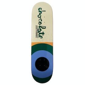 Chocolate Fernandez Giant Flags 8.25 Inch Skateboard Deck - Multi