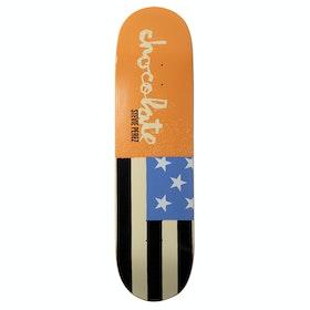 Chocolate Perez Giant Flags 8.375 Inch Skateboard Deck - Multi