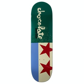 Chocolate Tershy Giant Flags 8.5 Inch Skateboard Deck - Multi