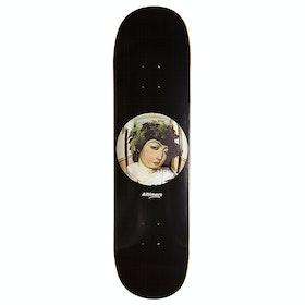 Alltimers 2 Am Wine God 8.1 Inch Skateboard Deck - Black