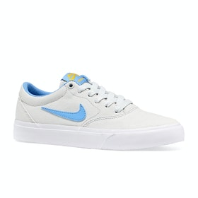 Chaussures Nike SB Charge Canvas - Photon Dust University Blue