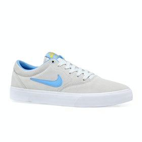 Chaussures Nike SB Charge Suede Slr - Photon Dust University Blue White