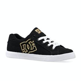 DC Chelsea Tx J Shoe , Skor Dam - Black Gold