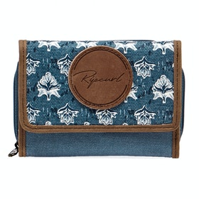 Rip Curl Navy Beach Wallet Womens Purse - Slate Blue