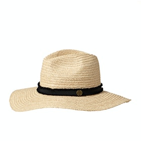 Rip Curl Sunsetters Straw Panama Womens Hat - Natural