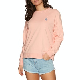 Sudadera Mujer Element Branded Crew - Coral Pink