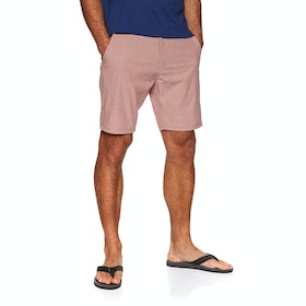 "Vissla Canyons Hybrid 19"" Walkshort Boardshorts - Rusty Red"