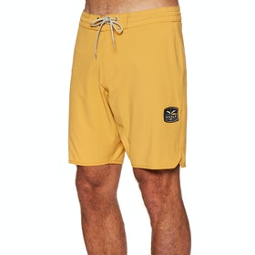 "Vissla Solid Sets 18.5"" Boardshort Boardshorts - Golden Hour"