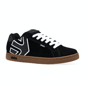 Etnies Fader Shoes - Black White Gum
