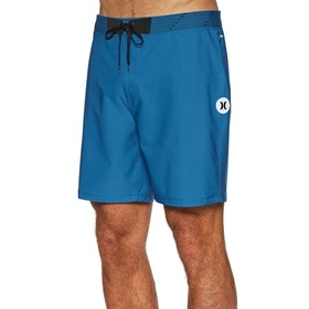Hurley Phantom Hyperweave Solid 18' Boardshorts - Industrial Blue