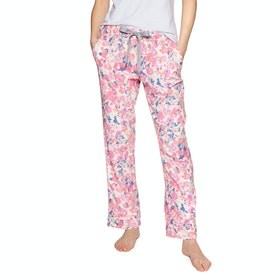 Joules Snooze Bottoms Womens Pyjamas - Cream Floral