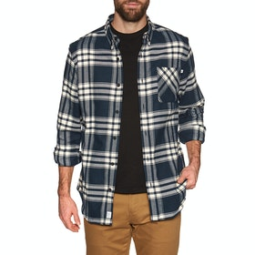 Timberland Back River Heavy Flannel Shirt - Dark Sapphire