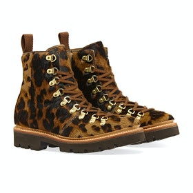 Grenson Nanette Women's Boots - Leopard Print Hair On Hide