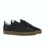 Black Nubuck Gum Sole