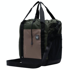 Herschel Barnes Shopper Bag - Dark Olive Multi