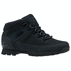 Timberland Euro Sprint fabric Walking Shoes - Black Knit