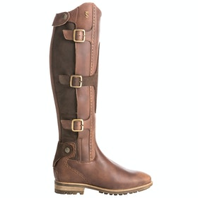 Tredstep Parkland Damen Country Boots - Dark Brown