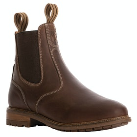 Tredstep Spirit Pull On Ladies Country Boots - Mahogany
