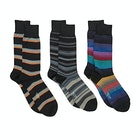 Paul Smith 3 Pack Mixed Fashion Socks