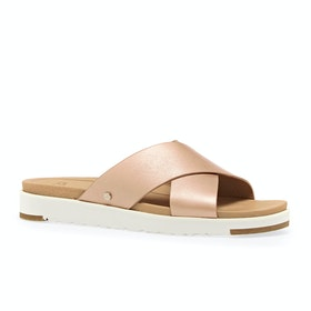 Sandales UGG Kari Metallic - Rose Gold