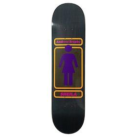 Girl Brophy 93 Til Skateboard Deck - Multi