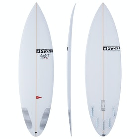Pyzel Ghost Pro Futures 5 Fin Surfboard - White