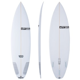 Pyzel Shadow Futures Thruster Surfboard - White